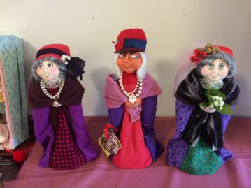 Clever power dolls for sale at Jo Wharton's