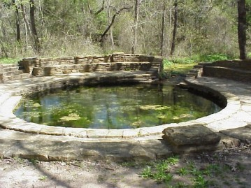 Sacred Chickasaw Springs of the Oklahoma Arbuckle Mini-Mountains by Amy Martin
