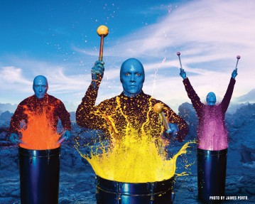 Blue Man Group: Blue in the Face