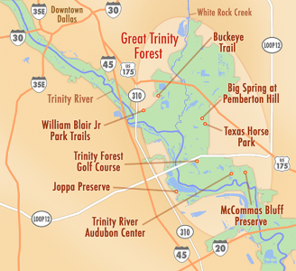 Resources: Trinity River & Great Trinity Forest