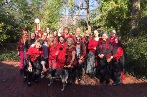 photo essay: Women's RED New Moon