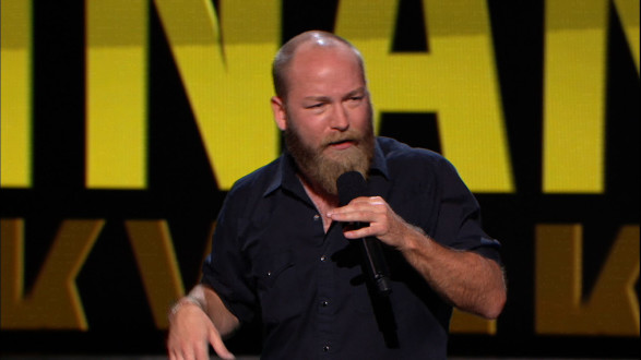 Kyle Kinane at Amphibian Stage Productions standup comedy series
