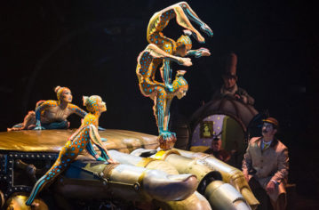 Full Steampunk Ahead: Kurios – Cabinet of Curiosities by Cirque du Soleil