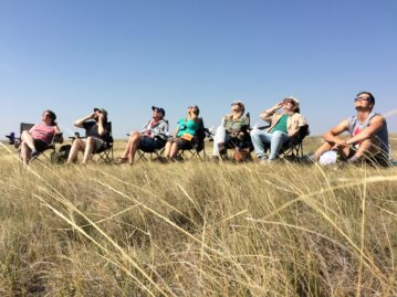 Eclipsestock! North Texas writer witnesses totality in Nebraska