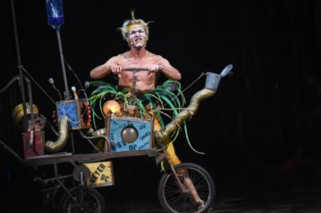 Earth, Sky, Fun: Cirque du Soleil's Varekai